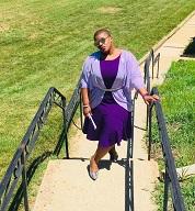 A beautiful vision in Purple on Purple,delightful!!